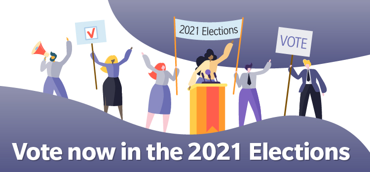 2021 Elections Postcard Vote Now EN