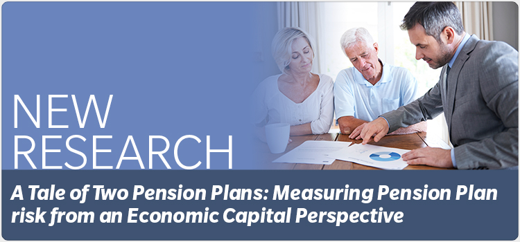 A Tale of Two Pension Plans: Measuring Pension Plan risk from an Economic Capital Perspective