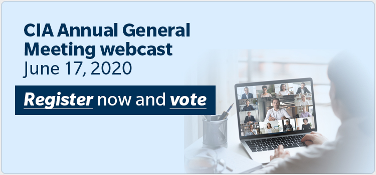 CIA Annual General Meeting webcast