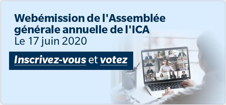 Webemission de l'assemblee generale annuelle de l'ICA