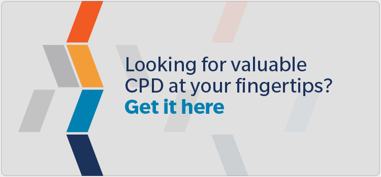 Looking for valuable CPD at your fingertips? Get it here