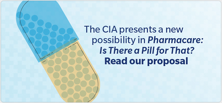 The CIA presents a new possibility in Pharmacare: Is There a Pill for That? Read our proposal