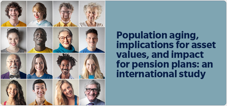 Population aging, implications for asset values, and impact for pension plans: an international study
