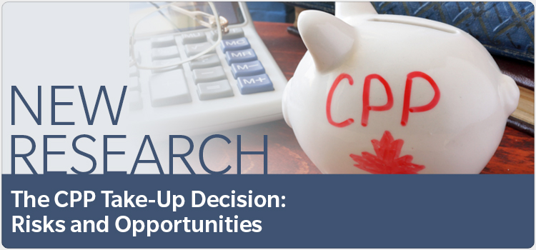 New research The CPP Take-Up Decision: Risks and Opportunities