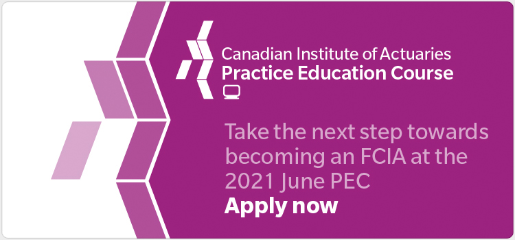 Take the next step towards becoming an FCIA at the 2021 June PEC Apply now