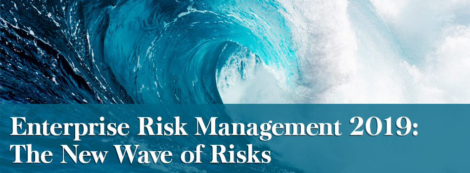 Enterprise Risk Management 2019: The New Wave of Risks